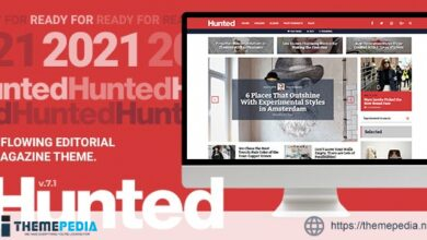 Hunted – A Flowing Editorial Magazine Theme [Free download]