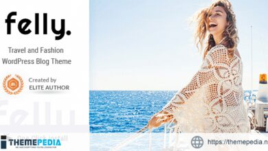 Felly – Travel and Fashion WordPress Blog Theme [Free download]
