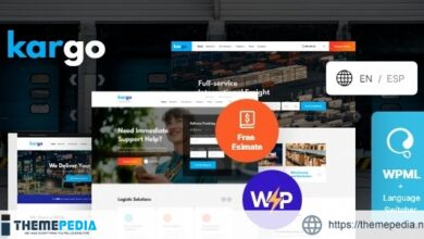 Kargo – Logistics & Transportation WordPress Theme [Free download]
