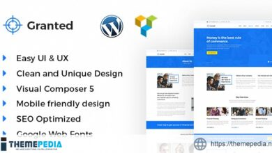 Granted – Business & Consultancy WordPress theme [Free download]