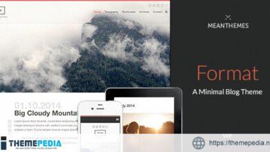 Format- A Minimal WordPress Blog Theme [Free download]