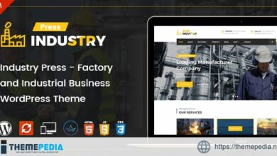 Industry Press – Factory and Industrial Business WordPress Theme [Updated Version]
