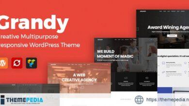 Grandy – Creative MultiPurpose WordPress Theme [Free download]