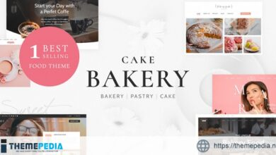 Cake Bakery – Pastry WP [Free download]