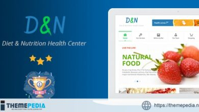 Diet & Nutrition Health Center – WordPress Theme [Updated Version]