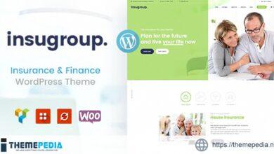 Insugroup – A Clean Insurance & Finance WordPress Theme [Free download]