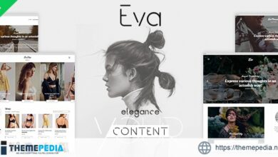 EVA – Elegant WordPress Theme for Creating Stories [Free download]