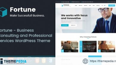 Fortune – Business Consulting and Professional Services WordPress Theme [Free download]
