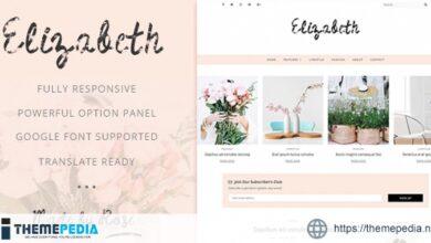 Elizabeth – A Responsive WordPress Blog Theme [Free download]