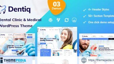 Dentiq – Dental & Medical WordPress Theme [Free download]