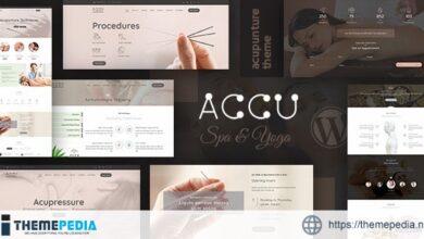 Accu – Healthcare, Massage WordPress Theme [nulled]
