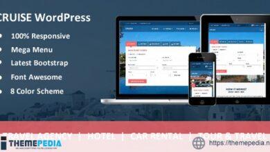 Cruise – Responsive Travel Agency WordPress Theme [Free download]