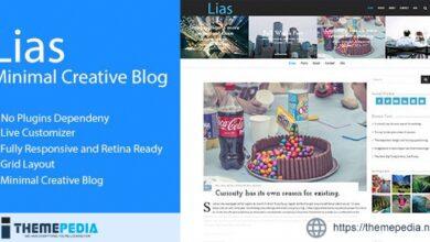 Lias – Minimal Creative Blog [Latest Version]