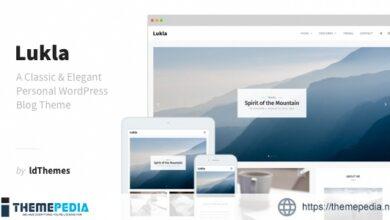 Lukla – A Responsive WordPress Blog Theme [Free download]