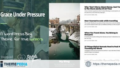 GraceUnderPressure - Responsive Theme Optimised for Touch [Free download]