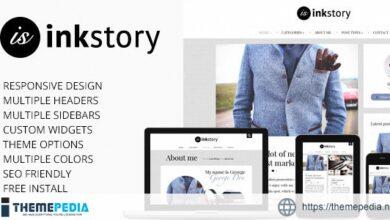 InkStory – Personal, News, Blog Wordpress Theme [Free download]