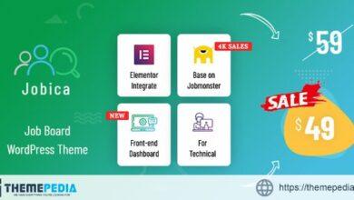 Jobica – Elementor IT Job Board WordPress Theme [Free download]