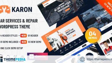 Karon – Car Repair and Service WordPress Theme [Updated Version]
