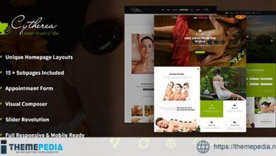 Cytherea – Beauty Spa & Resort WordPress Theme [Free download]