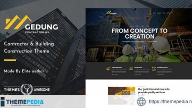 Gedung – Contractor & Building Construction Theme [Updated Version]