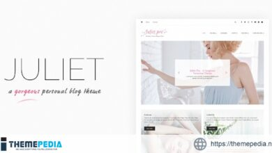 Juliet – A Gorgeous Personal Blogging Theme [Free download]