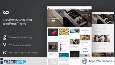 ClaPat – Creative Masonry Blog WordPress Theme [Free download]