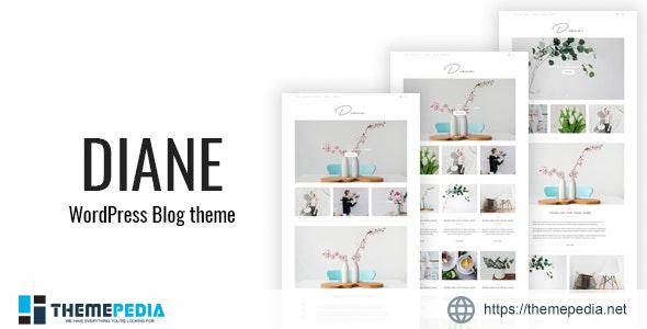 Diane – Minimal WordPress Blog Theme [Free download]