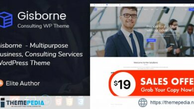 Gisborne – Business, Finance and Consulting WordPress Theme [Latest Version]