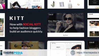 Kitt – Theme For Fashion Blogs [Free download]