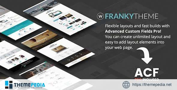 Franky – Multi-Purpose WordPress Theme [Free download]