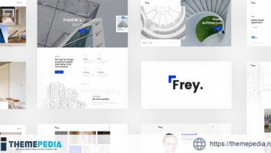 Frey – Contemporary Architecture & Portfolio WordPress Theme [Free download]