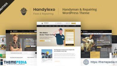 Handylexo – Handyman Repairing WordPress Theme [Free download]