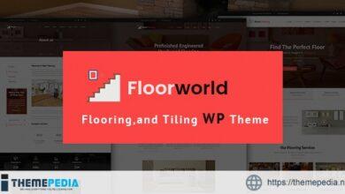 Floorworld – Flooring & Tiling Services WordPress Theme [Free download]