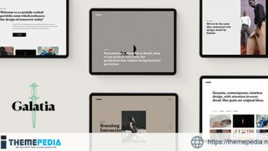 Galatia – Contemporary Agency Theme [Updated Version]