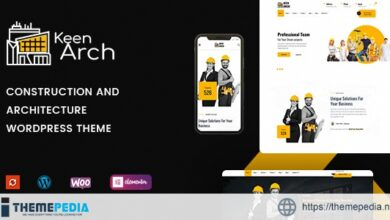 Keenarch – Building & Construction WordPress Theme [Free download]