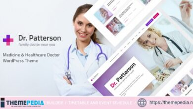 Dr.Patterson – Medicine & Healthcare Doctor WordPress Theme [nulled]