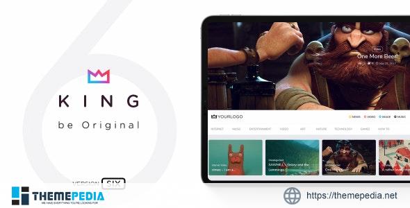 King – WordPress Viral Magazine Theme [Updated Version]