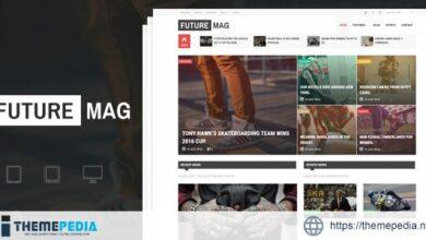 FutureMag – WordPress Magazine – News Theme [Free download]