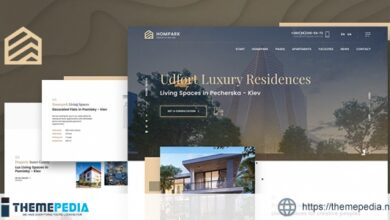 Hompark – Real Estate & Luxury Homes Theme [Free download]