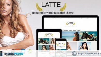 Latte – Responsive WordPress Blog Theme [Free download]
