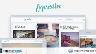 Expressivo – Lifestyle Masonry WP Blog Theme [Free download]