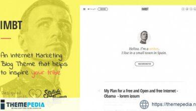 IMBT – Internet Marketing Blog Theme [nulled]