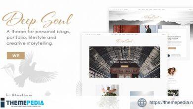 Deep Soul – Creative Multi-Purpose WordPress Theme [Free download]