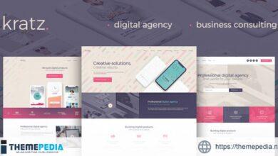 Kratz – Digital Agency Marketing and SEO WordPress Theme [Latest Version]