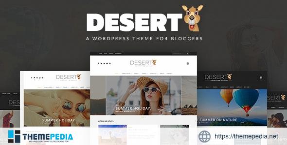 Desert – WordPress Travel Blog Theme [Free download]