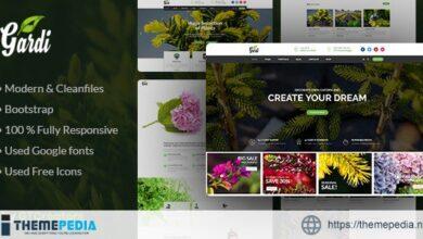 Gardening and Landscaping WordPress Theme – Gardi [nulled]