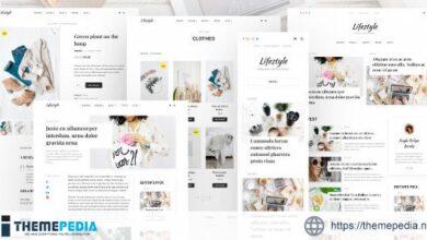 Lifestyle – Personal Blog WordPress Theme [Free download]