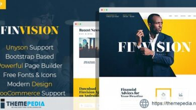 Finvision – Financial Consulting WordPress Theme [Free download]