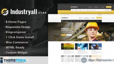 Industryall – Industrial & Factory WordPress Theme [Free download]