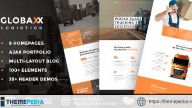 Globax – Logistics WordPress Theme + Woocommerce [nulled]